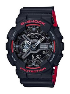 G-Shock Analog-Digital Black Dial Men's Watch-GA-110HR-1ADR