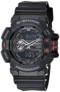 G-Shock Analog-Digital Black Dial Men's Watch - GA-400-1BDR
