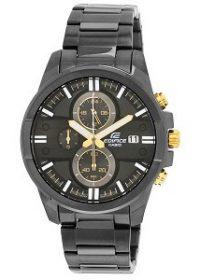 Casio Edifice Chronograph Black Dial Men's Watch - EFR-543BK-1A9VUDF