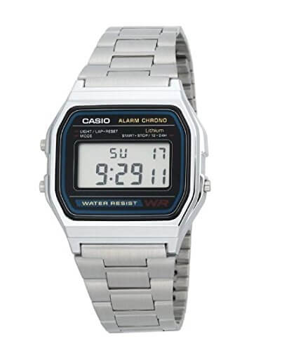Casio Vintage Digital Grey Dial Men's Watch – A158WA-1DF (D011)