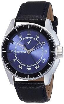 Fastrack Black Magic Analog Blue Dial Men's Watch – NE3089SL01