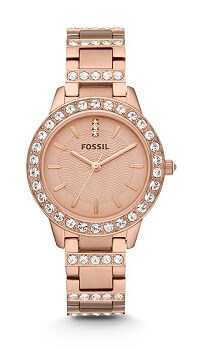 Fossil Jesse Analog Rose Gold Dial Women's Watch – ES3020
