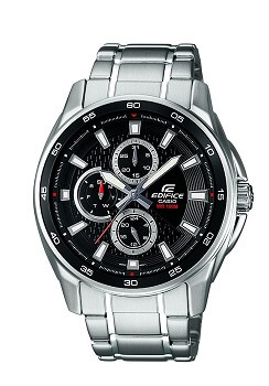 Casio Edifice Multi Fuction Analog Black Dial Men's Watch – EF-334D-1AVDF