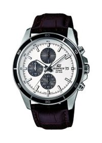 Casio Edifice EFR-526L-7AVUDF Chronograph White Dial Men's Watch