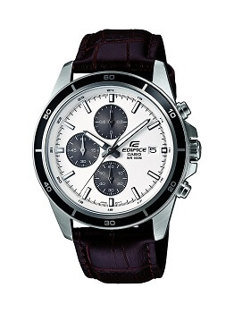 Casio Edifice Chronograph White Dial Men's Watch – EFR-526L-7AVUDF