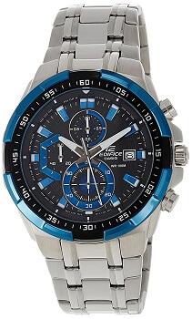 Casio Edifice Stopwatch Chronograph Multi-Color Dial Men's Watch – EFR-539D-1A2VUDF