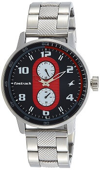 Fastrack Analog Grey Dial Men's Watch – 3159SM01