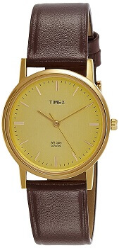 Timex Analog Champagne Dial Men's Watch-TW000A301