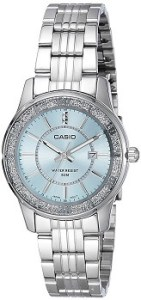 Casio Enticer Analog Blue Dial Women's Watch - LTP-1358D-2AVDF