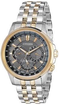 Citizen Analog Silver Dial Men's Watch – BU2026-65H