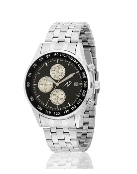 Yepme Men's Original Chronograph Watch – Black/Silver