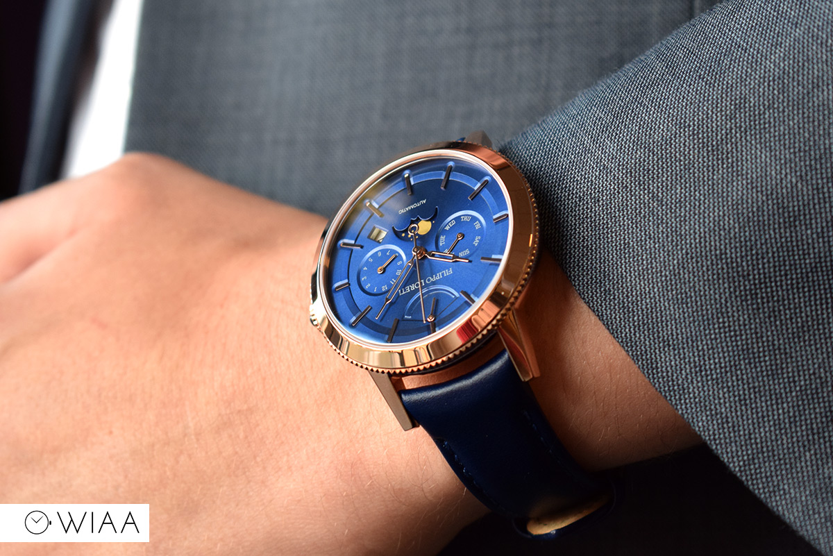 Filippo Loreti Venice Rose Gold Blue Automatic Watch Review