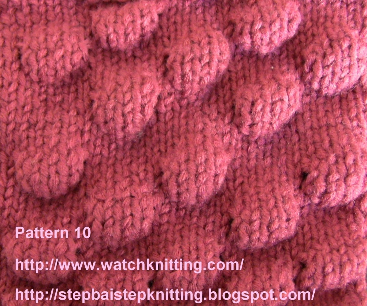 Knitting Knobby Projects : Stitch bouble
