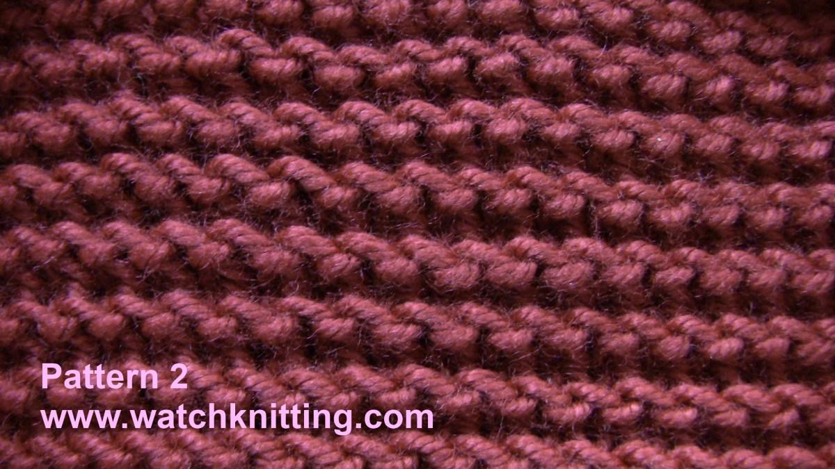Stitch 2 - Garter Stitch