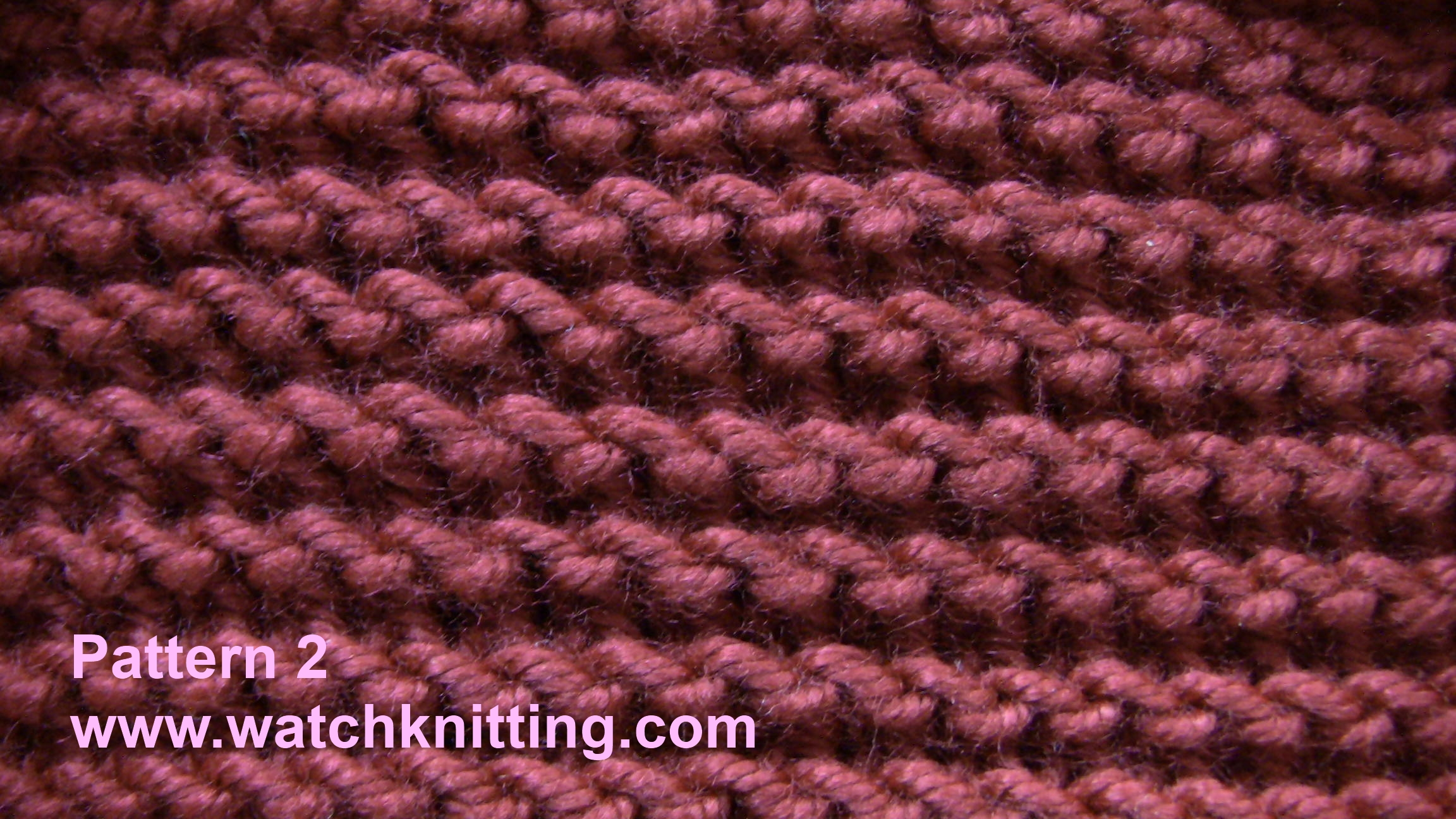 Pattern 2-Simple Knitting Patterns-www.watchknitting.com