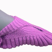 Sling heel slippers