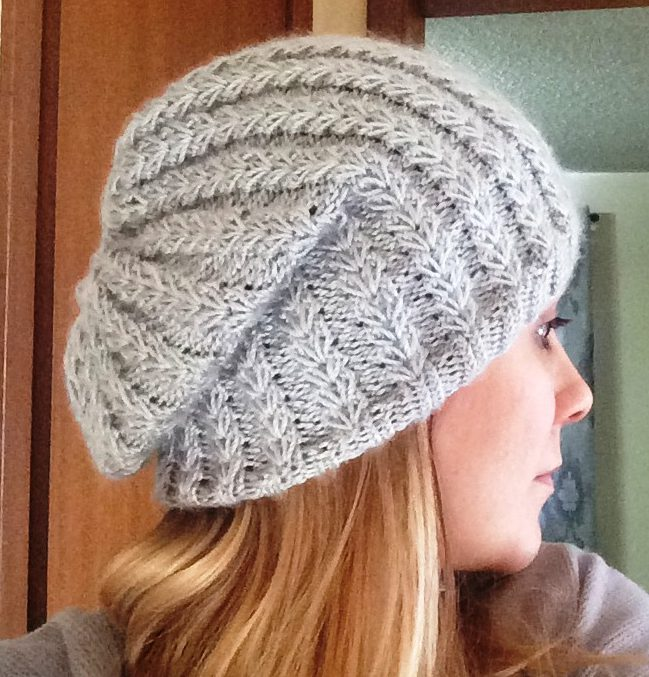 How to Knit a Slouchy Toque with Puff Rib Stitch?