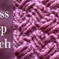 Cross drop stitch tutorial - stitch no.32