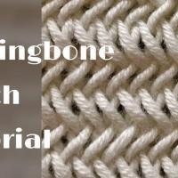 Herringbone stitch tutorial – stitch no.35