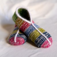 Easy slippers in Garter stitch