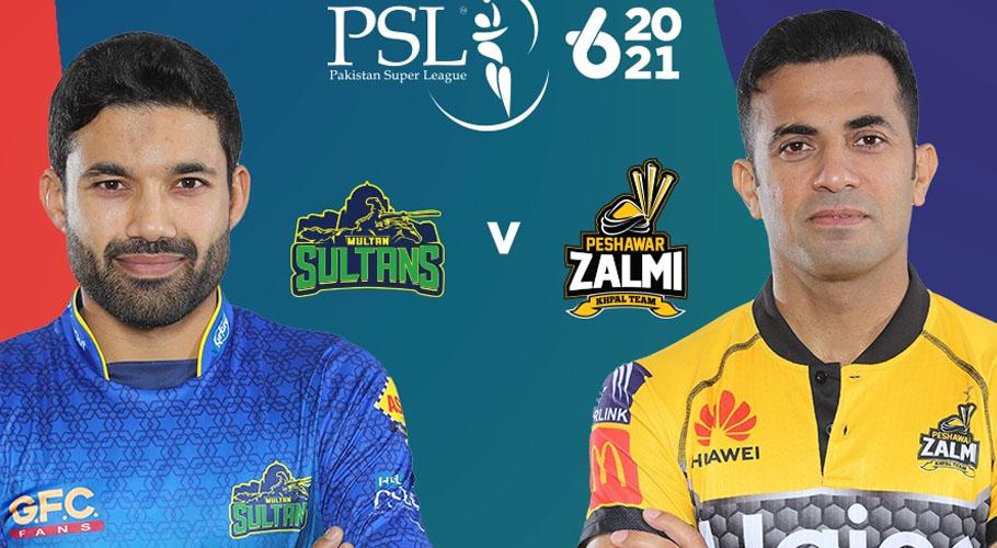 Multan Sultans vs. Peshawar Zalmi: HBL PSL 6 Final Live Score Online