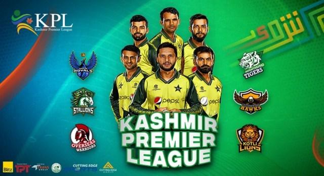 Kashmir Premier League Teams