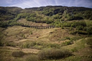 A viaduct in the Scottish Highlands.