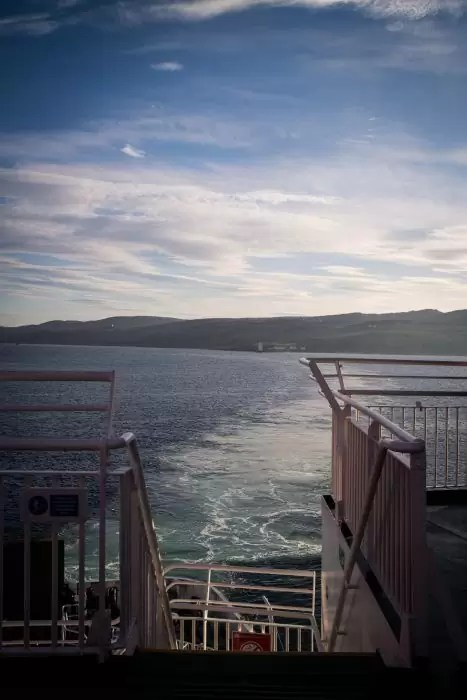 In the ferry to Islay