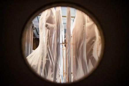 Christine Borland's WW I installment at Kelvingrove Museum in Glasgow.