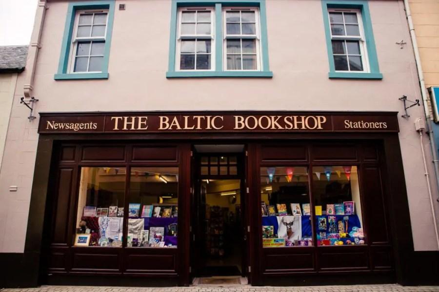 A bookshop in Stornoway