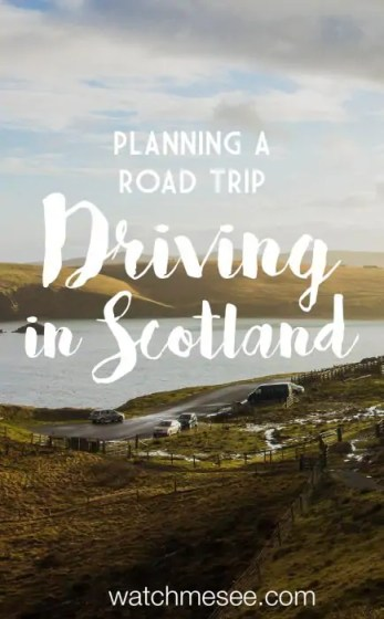 Driving in Scotland can be intimidating, but these ten tips will give you some guidance and help you plan the ideal road trip for you!