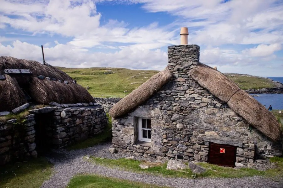 The Blackhouse Village in Garenin on the Isle of Lewis