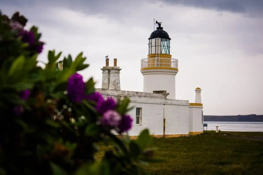 Lighthouse at Chanonry Bay.