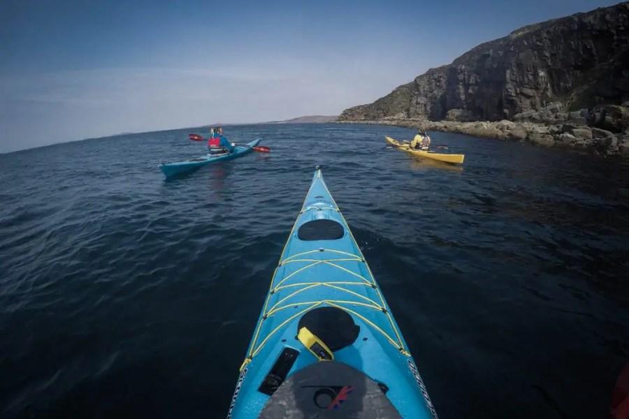 Kayaking in Scotland near Ullapool with Kayak Summer Isles