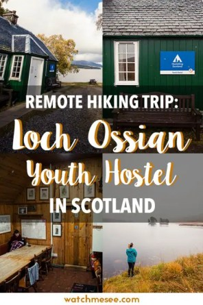 Loch Ossian Youth Hostel is a unique getaway in the Scottish Highlands. This review will convince you to spend a weekend in the mountains [+ packing & hiking tips]!