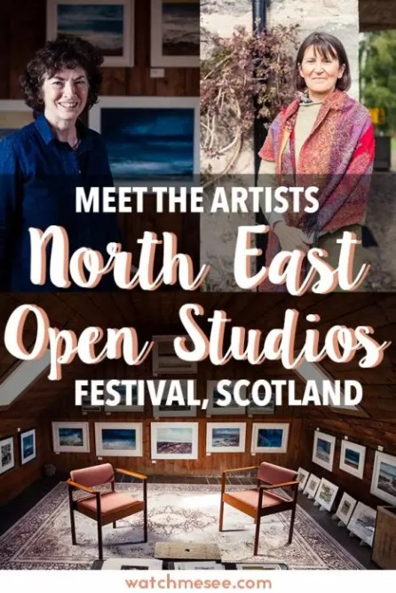 What is it like to meet local artists at their sacred work spaces? North East Open Studios festival in Aberdeenshire is your chance to find out!