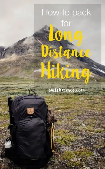 Packing for long-distance hiking is a meticulous task. Every item you bring must serve its purpose - so, what should you bring and how should you pack it?