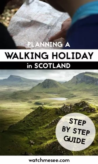 Scotland is a hiker's paradise - but where & how should you to begin? This is a guide to planning walking holidays in Scotland in 6 easy steps!