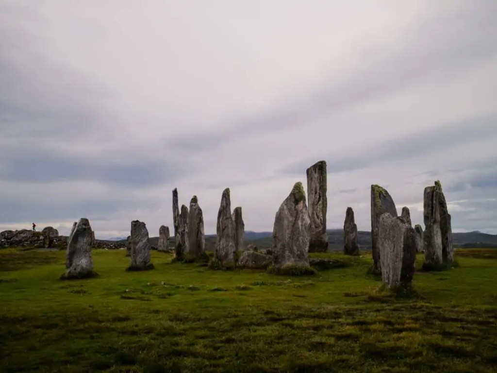 Callanish Standing Stones in Scotland