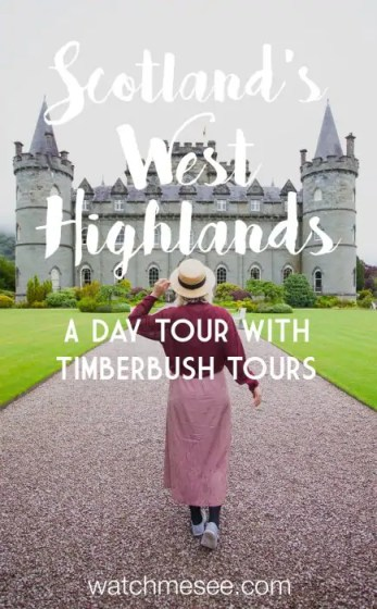Sometimes it's just easier to book a guided tour than drive yourself. Find out why in this review of my day in the West Highlands with Timberbush Tours!