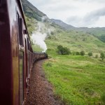 Yes, in Scotland you can ride the Hogwarts Express IRL
