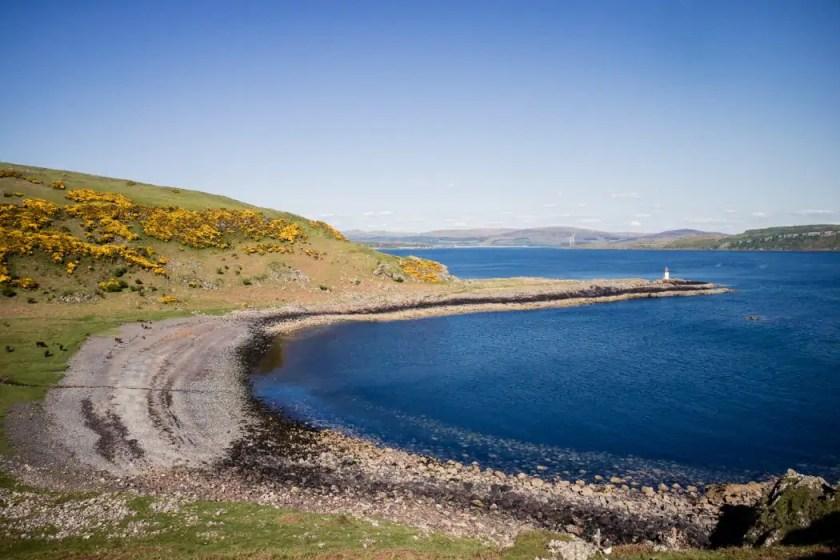 Glencallum Bay on the Isle of Bute.