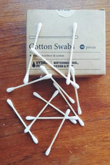 Zero waste cotton swabs in Glasgow