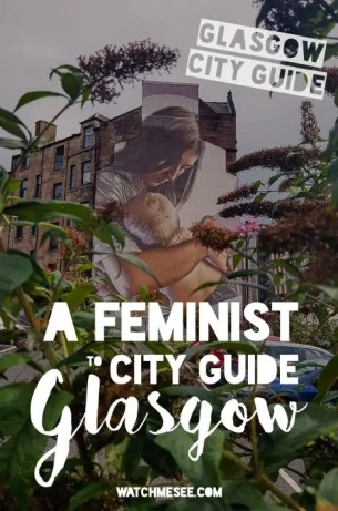 feminist city guide to glasgow pin 2