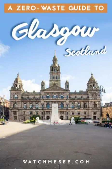 Want to shop plastic-free in Glasgow? This guide to zero waste shopping tells ou all the packaging free shops and markets in Glasgow you need to know about!