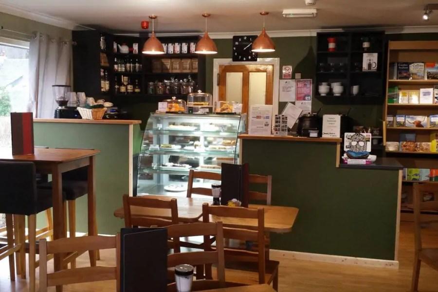 Glencoe Cafe in Glencoe village.