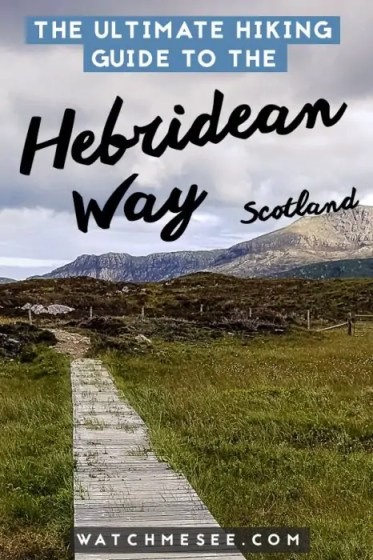 This complete Hebridean Way hiking guide contains everything you need to know about hiking in the Western Isles in Scotland: what to pack, where to stay & how to plan your route!