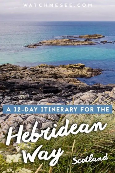 This is a 12-day itinerary for the Hebridean Way in Scotland - my personally tested and suggested route for walking the Hebridean Way in 12 days!