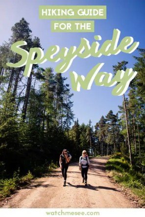 This hiking guide to walking the Speyside Way contains route descriptions, B&B recommendations, a packing list and so much more!