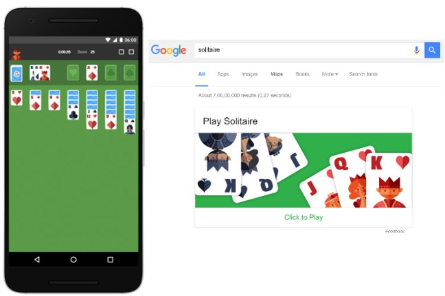 Solitaire - Google Games